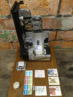 GPO Royal Mail 50p Stamp Booklet Vending Machine VR GR ER Post Box Shell Globe