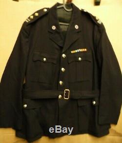 Gen. St Andrews Ambulance Corps Black Dress Uniform Jacket- Post War