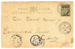 Great Britain MOROCCO AGENCIES-Postal Cad-HGR13-BRITISH POST OFFICE