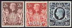Großbritannien KGVI Nr. 212-214 komplett tadellos postfrisch Mi. 450