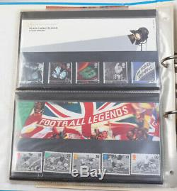 Großbritannien Presentation Packs mit postfrischen Serien in 3 Alben