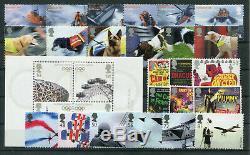 Großbritannien umfangreiches postfrisches Neuheitenlos. 2/4348