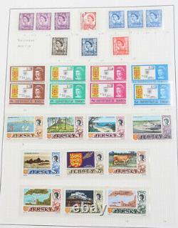 Guernsey, Jersey und Isle of Man tolle postfrische Sammlung 1969 bis 1991