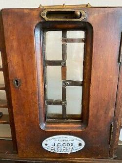 J C Cox Hm Royal Letter Patent Post Office Counter Stamp Dispenser