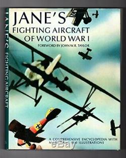 Jane's Fighting Aircraft of World War I Book The Cheap Fast Free Post