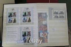 Lots 170+ Royal Mail Presentation Packs and Minisheets