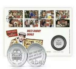 Only Fools and Horses Silver Medal Cover Royal Mail Limited Edition RARE