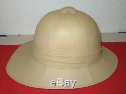 Original Vintage British Post WW1 Inter War Wolseley Tropical Sun Pith Helmet