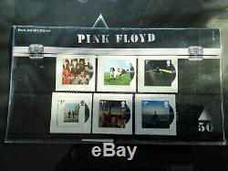 PINK FLOYD Rare Royal Mail Stamps SET. Unopened Mint New