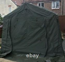 Portable Command Post Army Tent Mk3 9x9 WOLF Land Rover Expedition Immaculate