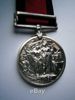 Post Boer War Natal 1906 medal Zulu Rebellion Tpr Bowman Estcourt Militia Resv