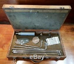 Post WW2 British 11 Squadron BIN Bomb Inspection Kit Used In Northern Ireland