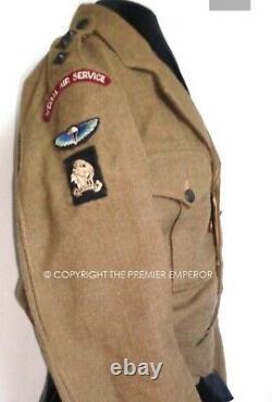 Post WW2 British 21 SAS Special Air Service Captain's 49 Patt Battledress Malaya