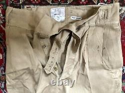 Post WW2 British Army Khaki Drill trousers ORIGINAL