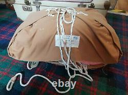 Post WW2 British Army RAF Irvin Cargo Parachute Type SD 2/1 Dated 1966