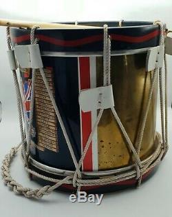 Post WW2 British Brigade Of Guards Regimental Ceremonial Side Drum