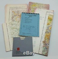 Post WW2 British RAF 367 Squadron Air Cadet Job Lot inc Satchel, Photographs etc