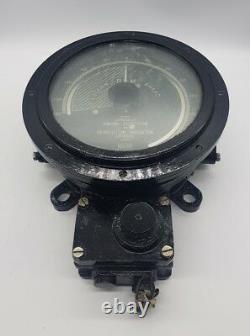 Post WW2 British Royal Navy HMS Dainty Engine Direction & Revolution Indicator