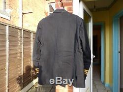 Post-WW2 Royal Navy Officers Uniform & Hat Commander K D Vicary 1961