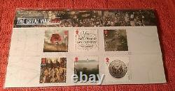 Post office at War 1916 Royal Mail WWl Stamp pack Alfred/Albert Knight Error