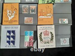 Presentation pks all 16 post office missed set royal mail stamps 1937-77 private