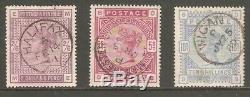 QV 1883 SG 178/183 Post mark Halifax/Manchester/Wigan Fine Used