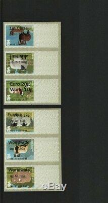 RARE ERROR SHEEP WINCOR INVERTED PRINTING COLLECTOR STRIP Post Go V. RARE