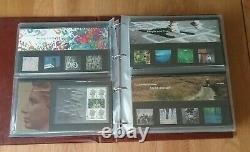 ROYAL MAIL PRESENTATION PACK'S x 378 COMPLETE JUNE 1971 TO OCT 2009 + 8 ALBUMS