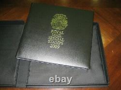 ROYAL MAIL STAMPS 2009 YEARBOOK LIMITED special EDITION YEAR BOOK