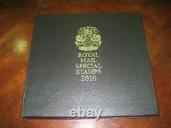 ROYAL MAIL STAMPS 2016 YEARBOOK LIMITED special EDITION