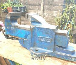 Record 23 Vice Quick Release Smooth Action Nice Jaws Free Post All Great Britain