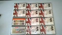Royal Mail 2012 London Olympics & Paralympics 63 Gold Medal Winners Complete Set
