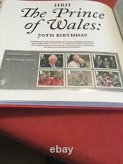 Royal Mail 2018 Yearbook Limited Edition Hardback