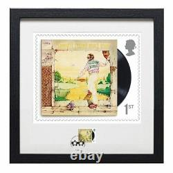 Royal Mail Elton John Goodbye Yellow Brick Road Framed Collectable Print Stamps