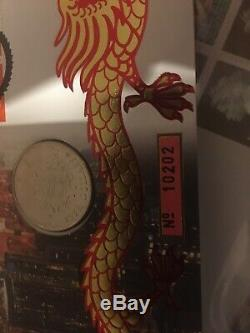 Royal Mail Hong Kong Dollar Coin. Firrst Day Cover 1997