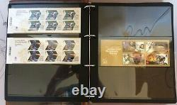 Royal Mail London 2012 Gold Medal Winners Stamp Collection in Album