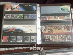 Royal Mail Presentation Packs collection 1990-2011 Mint Condition 228 Packs