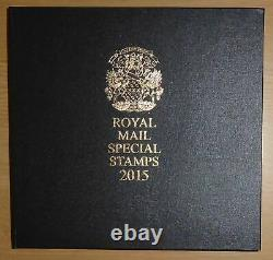 Royal Mail Special Stamps 2015 Deluxe Limited & Numbered Year Book Yearbook