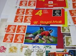 Royal Mail Unused Stamps 1st Class Books Sheets ETC Face Value £149.72 20% Off