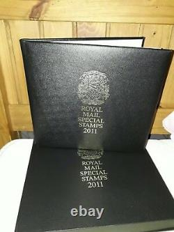 Royal mail 2011 leather year book in box. Rare