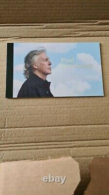 Royal mail Paul McCartney limited edition prestige stamp booklet