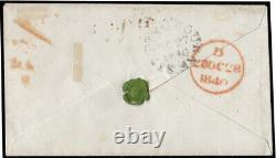 SG2 1840 1d. Black. (FB). Pl. 1b. Penny Post RAINHAM