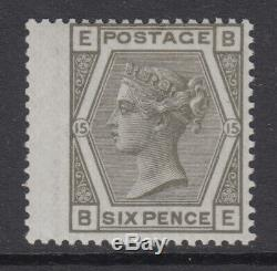 SG 147 6d Grey Wing Margin Plate 15 Position BE Post Office fresh unmounted mint