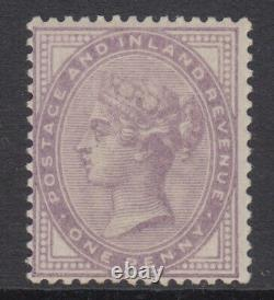 SG 171 1d Pale Lilac 14 dots, all but Post Office fresh unmounted mint condition
