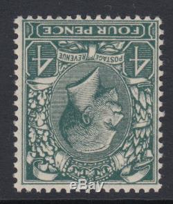 SG 424wi 4d Grey Green N39 (2) Block Cypher wmk inv in Post Office fresh U. Mint
