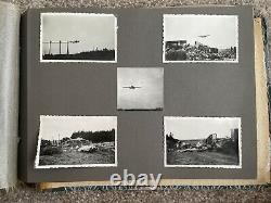 SUPERB Early Post WW2 British Army Berlin Brigade Airlift Photo Album RAF Gatow