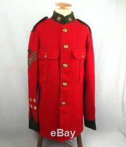 Scarce Post 1902 Colour Sergeants Tunic To The Brecknock Territorials