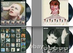 Sent tracked ALL 4 COMPLETE SET David Bowie Fan Sheet Stamps Royal Mail 2017