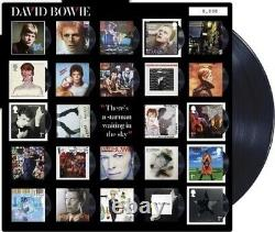Sent tracked David Bowie Collector Fan Sheet With all 6 Stamps Royal Mail