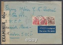 US 1942 censored cover to PO BOX 444 in Bletchley Park UNDERCOVER mail